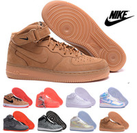 air force ones - Nike Air Force One Dunk Force Mens Running Shoes Cheap Original Force Ones Bowl Mirror Sneakers High Cut Sports Shoes Eur