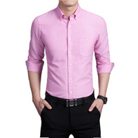 french cuff shirt - Men Plaid French Cuff Button Dress Shirts Social Fashion Non Iron Long Sleeve Slim Business Formal shirt Totem Tattoo Blend Tops