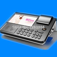 Wholesale Android pos terminal with inch touch screen Android OS with RFID PSAM WiFi G Thermal printer Barcode scanner