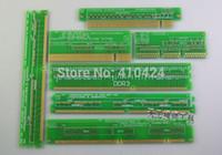 agp pci card - 7PCS Desktop Play Resistance card full set of DDR3 DDR SD DDR2 PCI PCI E AGP Motherboard maintenance tools order lt no track