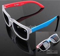 Wholesale 2014 New Designer Sports Sunglasses Men s Women s Brand Name Ken Block Sunglass KEN BLOCK HELM SPY Sport sun glasses with package