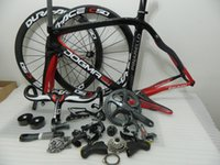 Wholesale 2015 kinds of color DIY Made full carbon bike complete road bike carbon fiber road bicycle fit DI2 and Mechanical Group