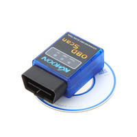 Wholesale ELM327 V2 Mini Bluetooth ELM OBDII OBD II OBD2 Protocols Car Auto Diagnostic Scanner Tool K488