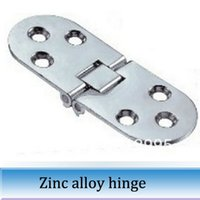 Wholesale 10pcs Silver Oval table hinge folding accessories flap hinges