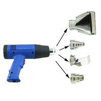 Wholesale New Heat Gun Hot Air Gun Dual Temperature Nozzles Power Tool W V Heater Gun