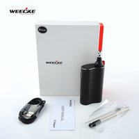 vapor - WEECKE Gift Box C Vapor Electronic Herbal Vaporizer Dry Herb Atomizer Kit with mAh battery LCD display adjustable temperatures portable