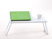 folding tray - New White Portable Foldable Laptop Desk Folding Laptop Table brief Stand Computer Notebook Bed Tray Furniture