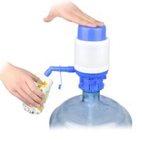 Wholesale Convenient Blue Easy Manual Hand Press Gallon Bottled Drinking Water Pump Dispenser H4209 order lt no tracking