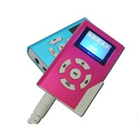 slot machine - Metal mp3 player with LCD screen book model music player support GB TF card slot machine earphone cable cord pc up