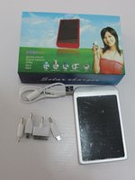 cell phone battery pack - Portable MAH Solar Battery Panel Charger portable power bank power mobile for Cell Mobile Phone MP3 camera with retail pack