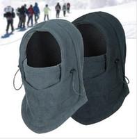 Wholesale Winter Outdoor Windproof Hat Multifunctional Wigs Cap Thermal Face Mask Anti terrorism Bilayer Sheet Mask