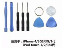 Wholesale 8 in Repair Opening Tool tools Kit With Point Star Pentalobe Torx Screwdriver For iPhone s s c plus