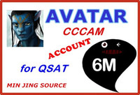 Wholesale Free DHL2015 NEWCAM months avatarcam account renew all qsat models decoders ACAM AVATAR CAM ACC