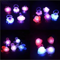 novelty gifts and toys - Novelty LED Ring Lights LED Opening Rings Party Bar Finger Night Light Boys and Girls Children s Gifts Kids Toys Party Wedding Festival Gift