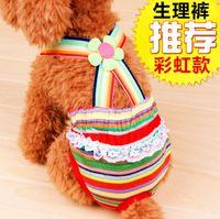 Wholesale Pet dog Health pants Dress Apparel Autumn WINTER Pet Clothes Costume