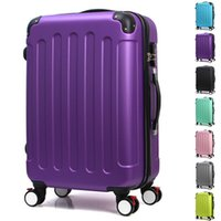 Wholesale Wholesales High Quality Man Women Trolley Travel Luggage Bags Spinner Wheels Boarding Travel Suitcases Rolling Luggage JO0018 Smileseller