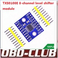 audi shifter - TXS0108E channel level shifter module bit bi directional voltage supply and exhaust pin TXS0108