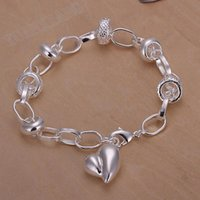 Wholesale fashion Hot Heart Pendant Bracelet