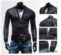 aviation leather jackets - Fall New Leather Jacket Men Jaqueta De Couro Chaqueta Cuero Hombre Harley Biker Aviation Jacket Blouson Cuir European
