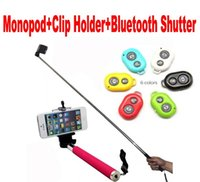 Cheap Car Chargers Handheld Monopod Best For US  Bluetooth Remote Shutter