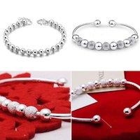 Wholesale Charm Silver Plated Chain Bracelet Fashion Bangle Bracelets Stylist Sterling