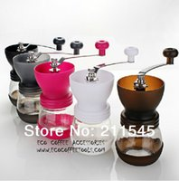 Wholesale New Arrival Coffee grinder Coffee Accessories Four Colors for choosing manual coffee grinder A3