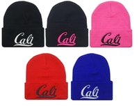 Wholesale Beanies Hat For Men Women Knitted Popular Style CALI Embroider Skullies UNISEX Caps For Men Top Sales