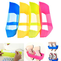 Wholesale Creative Adhesive Shoes Rack Wall Hanging Shoes Organizer Hanger Hook High Quality SGG