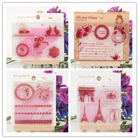 Wholesale 2015 NEW ARRIVAL SILICONE CRAFT POST STAMPS FOR SCRAPBOOKING