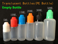 Cheap 10ml 30ml bottles Best dropper bottles black white green blue yellow red orange 15ml plastic bottles