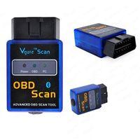 Wholesale ELM327 V1 Bluetooth Wireless OBD II OBD2 Auto Car Diagnostic Scan Tool J DA0519 M5