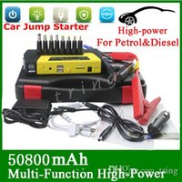 Wholesale High Quality V Gasoline Diesel Portable Mini Jump Starter mAh Car Jumper Booster Power Battery Charger Mobile Phone Laptop Power Bank