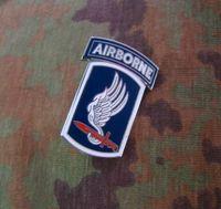 airborne brigade - The U S Airborne Brigade metal badge USARMY chapter title Medal Badge