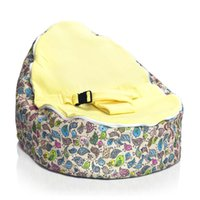 Wholesale Hot Promotion Baby seat baby bean bag yellow brids dotswithout filling