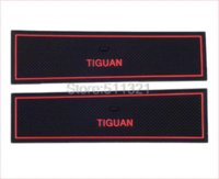 Wholesale Fit For Volkswagen Tiguan PVC rubber car gate slot mat car door mat cup mat M50810