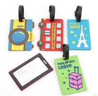 Wholesale shipping new arriving popular luggage tag portable suitcase bag tag