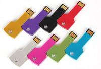 Acheter Logo d'entreprise cadeaux-NOUVELLE publicité de DHL sur les cadeaux d'affaires d'usb d'usb 64gb d'or clé 64Go disque d'u d'entreprise de disque d'u personnalisé montrent le disque d'u 64 g 60pcs / lot