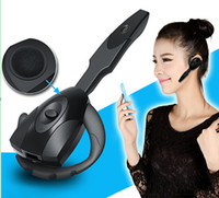 Wholesale Gaming Bluetooth Headset Wireless Rechargeable Handsfree Mono Headphone Long Standby Earphone for PS3 PC