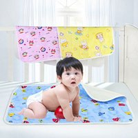 Wholesale Baby Changing Pad Waterproof Stroller Mat S Size Reusable Nappies x44cm Cambiador Cotton Stroller Pads For Babies Children Accessories