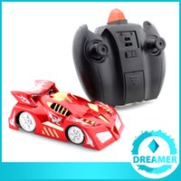 Wholesale 1x The Best Kid RC Gift Wall Climbing Car with Micro Remote Control Zero Gravity RC Wall Climber Car Hamleys