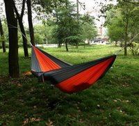 parachute fabric - New Parachute Nylon Fabric Hammock Travel Camping For Double Two Persons Hanging Bed Outdoor Leisure x CM