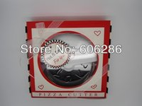 baby sower - New arrival A Slice of LOVE Stainless Steel pizza cutter wedding favors baby sower supplies gifts