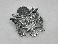 air force souvenirs - 2016 Real Time limited American Metal Badges Militaire Medailles Ussr Us Air Force Airforce Officers Dayan Mao Badge