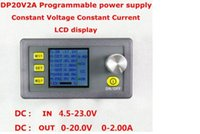 Wholesale 1Pcs DP20V2A CVCC Programmable Control Step down Power Supply Module LCD Display