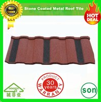 Wholesale guangzhou factory high quality stone coated roofing sheets