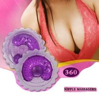 Wholesale Nipple Vibrate Silent Breast Massager Waterproof Nipple Care Enlarge Enhance Massager Sex Toy Provocative For Women