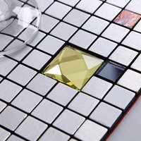 aluminum facade panels - AIA metal mosaic Mosaic Self adhesive aluminum composite panel mosaic facade mosaic backdrop bar