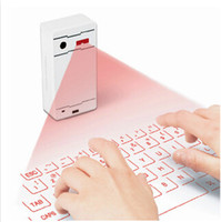 Wholesale Mini Wireless Virtual Laser Keyboard Projection Bluetooth Keyboards for Android IOS Smart Phone Tablet PC Laptop Hot