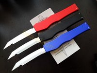 blade - 2014 MICROTECH AP Custom HALO V T E satin Plain knife Tanto Edge Tactical knife knives new in original box