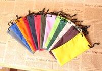 Wholesale Sunglasses Pouch Bag Soft Case waterproof Cloth Dust bag glasses Pouches phone bag